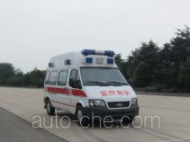 蓝港牌XLG5040XJHCY4型救护车