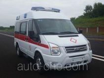 蓝港牌XLG5046XJHCY5型救护车