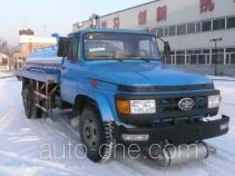 Waste oil collection truck