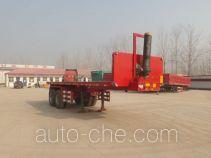 Nisheng XSQ9350ZZXP flatbed dump trailer