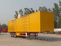 Nisheng XSQ9400XXY box body van trailer