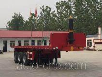 Nisheng XSQ9400ZZXP flatbed dump trailer