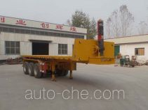 Nisheng XSQ9405ZZXP flatbed dump trailer