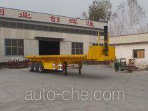 Nisheng XSQ9406ZZXPHX flatbed dump trailer