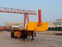 Tanghong XT9350ZZXP flatbed dump trailer