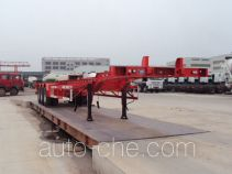 唐鸿重工牌XT9400TJZ48型集装箱运输半挂车