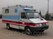 Negative pressure bio isolation ambulance