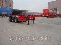 Xingyang XYZ9400TWY dangerous goods tank container skeletal trailer