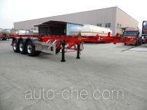 Xingyang XYZ9400TWYA dangerous goods tank container skeletal trailer