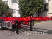 Xingyang XYZ9400TWYAD dangerous goods tank container skeletal trailer