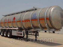 Xingyang XYZ9401GRYB flammable liquid aluminum tank trailer