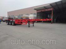 Xingyang XYZ9401TWY dangerous goods tank container skeletal trailer