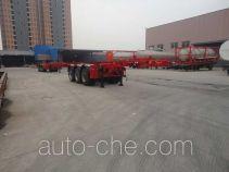 Xingyang XYZ9402TWY dangerous goods tank container skeletal trailer