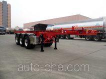Xingyang XYZ9402TWYA dangerous goods tank container skeletal trailer