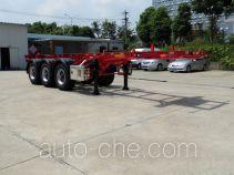 Xingyang XYZ9402TWYAD dangerous goods tank container skeletal trailer