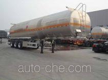 Xingyang XYZ9409GRYLA flammable liquid aluminum tank trailer