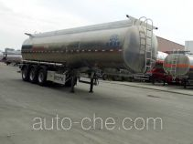Xingyang aluminium liquid food tank trailer