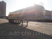 兴扬牌XYZ9409GYY型铝合金运油半挂车