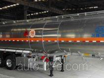 兴扬牌XYZ9409GYYD型铝合金运油半挂车