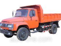 兰田牌XZ5815CDA型自卸低速货车