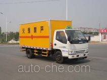 Zhongchang XZC5045XQY4 explosives transport truck