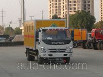 Zhongchang XZC5079XRY4 flammable liquid transport van truck