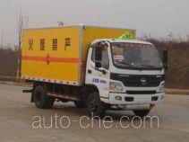 Zhongchang XZC5089XQY4 explosives transport truck