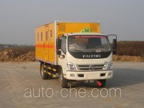 Zhongchang XZC5099XRY4 flammable liquid transport van truck
