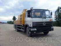 徐工牌XZJ5120THB型车载式混凝土泵车