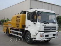 徐工牌XZJ5122THB型车载式混凝土泵车