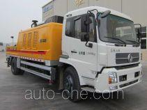 徐工牌XZJ5160THB型车载式混凝土泵车