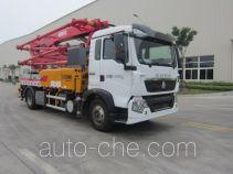 徐工牌XZJ5160THBZ型混凝土泵车