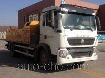 徐工牌XZJ5161THB型车载式混凝土泵车