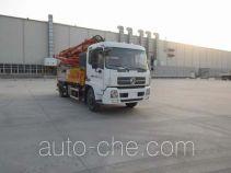 徐工牌XZJ5161THBD型混凝土泵车