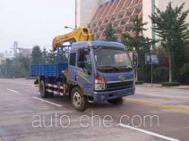 徐工牌XZJ5162JSQJ4型随车起重运输车