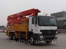 徐工牌XZJ5284THB型混凝土泵车