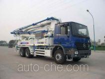 徐工牌XZJ5285THB37B型混凝土泵车