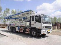 徐工牌XZJ5286THB37A型混凝土泵车