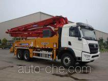 徐工牌XZJ5290THB型混凝土泵车