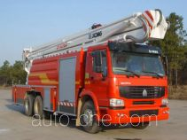XCMG XZJ5300JXFJP32/B2 high lift pump fire engine