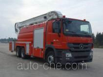 XCMG XZJ5313JXFJP19 high lift pump fire engine