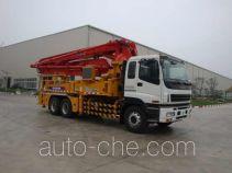 徐工牌XZJ5323THB型混凝土泵车