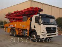 徐工牌XZJ5330THB型混凝土泵车