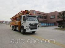 徐工牌XZJ5330THBZ型混凝土泵车