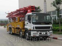 徐工牌XZJ5413THB型混凝土泵车