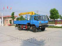 Zhongjie XZL5110JSQ truck mounted loader crane