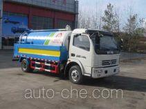 中洁牌XZL5112GQW5型清洗吸污车