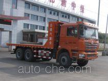 中洁牌XZL5256TPB4型平板运输车