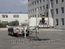 Zhengzheng YAJ9400TGY high pressure gas long cyllinders transport skeletal trailer