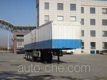 Zhengzheng YAJ9401XXY box body van trailer